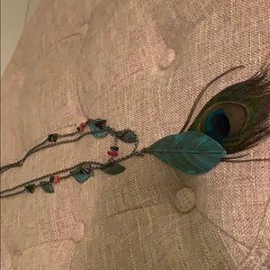 Jewelry - Peacock layered necklace